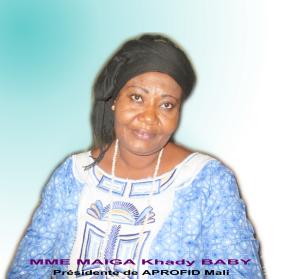 Mme Maiga Khady BABY1